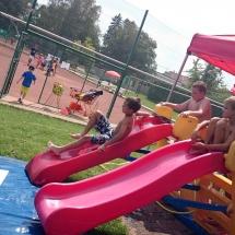 Tenniscamp_2016_Wasserrutsche